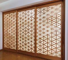 技の結晶|木下木芸 Elegant Home Decor, Shoji Doors, House Styles, Interior Styling, Decorative Panels, Modern Japanese Interior, Japanese Woodworking, Moroccan Design, Wood Design