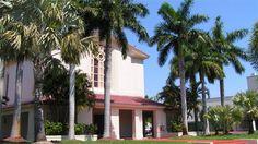 Cor Jesu Chapel on Barry University's campus in Miami Shores, Florida