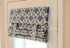 Blue Pattern French Door Curtain (Blue Pattern Fabric Pictured)   Price Is  For 1 Panel LAST ONE! Only 25x70
