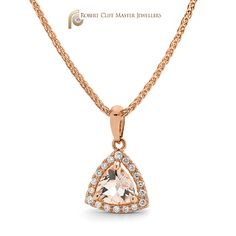 What's your best word to describe our latest #diamond &  #morganite #pendant #design?  #necklace #jewellery #sydneyjewellers #sydneydesigner #jewellerydesigner #jewelrydesigner #jewellerydesign