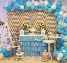 For many of us, choosing gifts can become a very troublesome business than an enjoyable event. Elephant Baby Boy, Elephant Theme, Elephant Baby Showers, Peanut Baby Shower, Baby Shower Niño, Shower Party, Baby Shower Decorations For Boys, Boy Baby Shower Themes, Birthday Decorations
