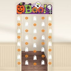Friendly Mummy Spooky Door Curtain