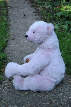 Jacques (an original mohair teddy bear by BigFeetBears)