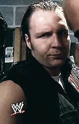 The look I get when The Authority comes out thx Ambrose you and i act the same!!!!!