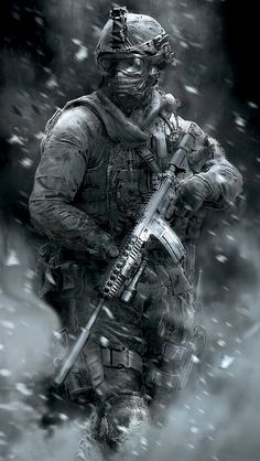 I will be doing imagines about the Call Of Duty characters from the games. There are some Call Of Duty games that I haven't played but if you request one tell. Mobile Wallpaper, Handy Wallpaper, Indian Army Wallpapers, Military Drawings, Military Special Forces, Future Soldier, Army Soldier, Military Guns, Call Of Duty Black