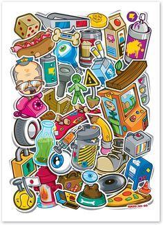 street stickers - Google Search