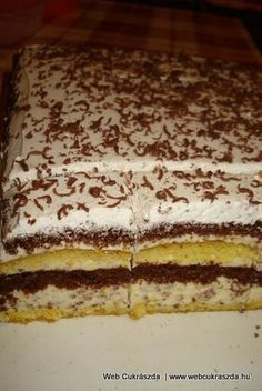 Stracciatella torta Torte Cake, Christmas Baking, Cake Cookies, Nutella, Tiramisu, Biscuits, Sweet Tooth, Sweet Treats, Sweets