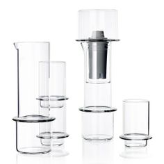 Tower Glassware is a minimalist design created by England-based designer Sebastian Bergne. The collection celebrate the grace and elegance o...