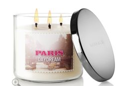 Candle Slatkin & Co. Bath & Body Works This fragrance is awesome! =) - Fresh Scented Candles - Ideas of Fresh Scented Candles Bath N Body Works, Bath And Body, Glass Jars, Candle Jars, Fragrance Lotion, Perfume, Home And Deco, Smell Good, Scented Candles