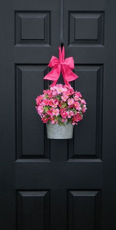 Beautiful Spring wreath for the front door. Description from pinterest.com. I searched for this on bing.com/images
