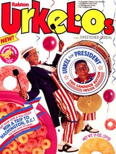 """Urkel-O's"" Cereal? This actually existed?"