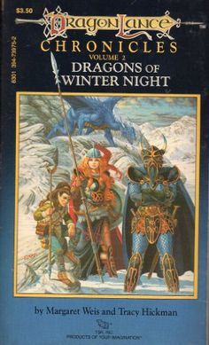 Dragons of Winter Night ( by Margaret Weis and Tracy Hickman) On Thriftbooks.com. FREE US shipping on orders over $10. Dragons of Autumn Twilight sets em up, and Dragons of Winter Night knocks em down. The second volume in Dragonlances seminal trilogy stokes the action with a big ol blast of dragon breath. The War...