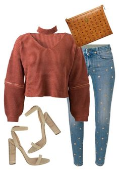 """""""Untitled #5560"""" by stylistbyair ❤ liked on Polyvore featuring STELLA McCARTNEY, WithChic, YEEZY Season 2 and MCM"""