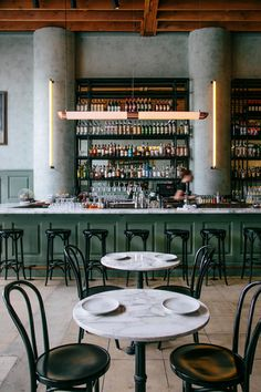 lighting and decor at cafe birdie in los angeles. / sfgirlbybay