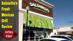 Salsarita's Fresh Mexican Grill Review Franchise Restaurants, Mexican Grill, Grilling, Fresh, Crickets