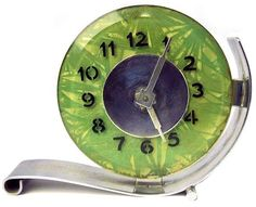 Art Deco modernist clock                                                                                                                                                     More