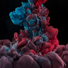 Macro high-speed Photography of Ink in water High Speed Photography, Artistic Photography, Color Photography, Macro Photography, Space Artwork, Camera Art, Ink In Water, Never Grow Up, Creative Industries