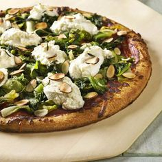Cheesy pizza can be healthy for you! These homemade pizza recipes use fresh vegetables, herbs, spices, and mixes of cheeses and crust. You'll never order greasy deliver again