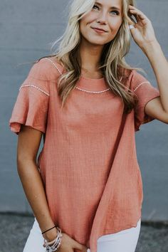 LaDawn Button Blouse   ROOLEE