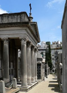 Argentina Buenos Aires Recoleta Cemetry by Dave Curtis, via Flickr