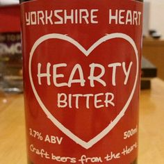 Good hoppy bitter balance. - Drinking a Hearty Bitter by Yorkshire Heart