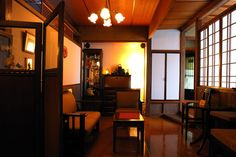 tabier.com Japanese Modern House, Japanese Interior, Modern Interior, Japanese Castle, Room Interior, Interior Design Living Room, Interior Decorating, Style At Home, Modern Room