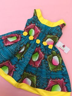 Ankara girls dress African print wear African wear for kids African kids wear - The world's most private search engine African Dresses For Kids, African Babies, African Children, Latest African Fashion Dresses, African Print Dresses, African Print Fashion, African Wear, Kids Dress Wear, Kids Wear