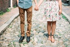 Beacon Hill Engagement / Ruth Eileen Photography