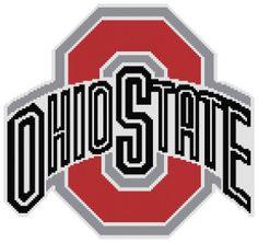 Ohio state logo cross stitch pattern by blip103patterns on etsy counted cross stitch pattern the ohio state university buckeyes logo instant download pdf voltagebd Choice Image