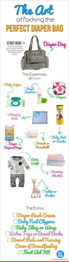 What to Pack in a Diaper Bag