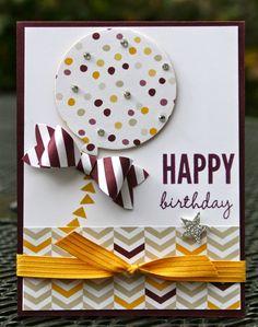 Krystal's Cards: Stampin' Up! Celebrate Today Crushed Blackberry #stampinup #celebratetoday #birthdaycard #stampsomething #krystals_cards