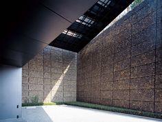 Usos do gabião na arquitetura e construção.