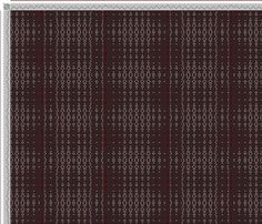 Scarf pattern! draft image: Crackle Design Project, Ralph Griswold, 8S, 8T