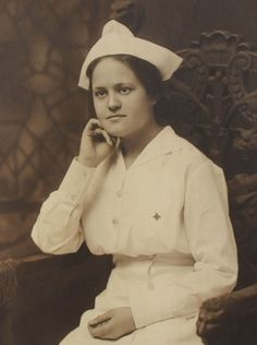 Attractive 1920's Nurse Photograph by @Vernon Dutton, via Flickr