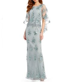 Need a gorgeous gown for your next social event or black tie gala? Find the perfect women's formal dress or evening gown at Dillard's, your dresses & gowns destination. Mother Of The Bride Dresses Vintage, Mothers Dresses, Formal Dresses For Women, Groom Dress, Elegant Outfit, Beautiful Dresses, Ball Gowns, Evening Dresses, Capelet