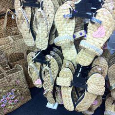 Handwoven slippers from Laguna, Philippines