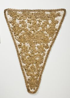 Mid-18th century British Stomacher at the Los Angeles County Museum of Art, Los Angeles