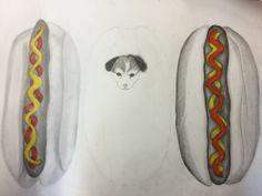 In deze les heb ik geleerd hoe ik de haartjes van een dier beter en realistischer kan tekenen
