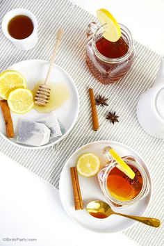 Whether you prefer rum or whiskey, this classic tea cocktail will keep you warm and cozy this winter.