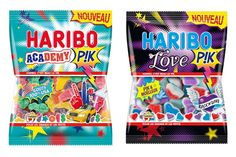 Bonbons Haribo Academy et Love P!K #gourmandises