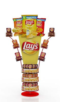 lays chips on Behance