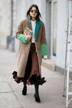 Неделя моды в Нью-Йорке, осень-зима 2016: street style. Часть 1, Buro 24/7