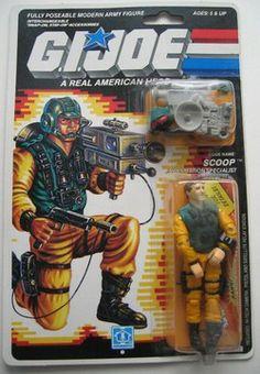 Hasbro+Toys+GI+Joe | Gi Joe Scoop MOC 1988 Hasbro