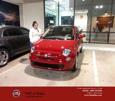 https://flic.kr/p/BCiJoP   Happy Anniversary to Maura on your #FIAT #500 from Jahn Smith at Fiat of Dallas!   deliverymaxx.com/DealerReviews.aspx?DealerCode=F741