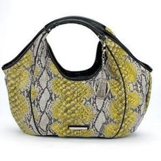 'Authentic Kathy Van Zeeland Vagabond Shopper-Snake' is going up for auction at  9pm Tue, Dec 25 with a starting bid of $50.