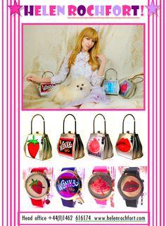 Helen Rochfort Handbags and Watches