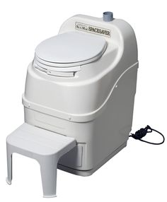 Sun-Mar SpaceSaver Composting Toilet The Sun-Mar SpaceSaver Compost Toilet is a standard three chamber unit designed specifically for situations where space is extremely limited. With a width of only