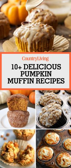 18 Pumpkin Muffin Recipes for Brisk Fall Mornings Your kitchen i. 18 Pumpkin Muffin Recipes for Brisk Fall Mornings Your kitchen is going to smell am Best Pumpkin Muffins, Pumpkin Muffin Recipes, Cinnamon Muffins, Pumpkin Bread, Healthy Bedtime Snacks, Breakfast Bake, Fall Breakfast, Pumpkin Cheesecake, Cheesecake Recipes