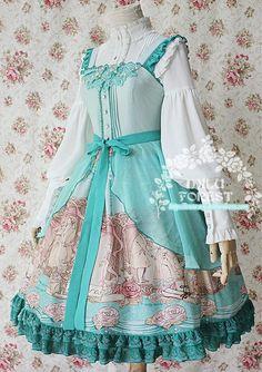 Milu Forest~Pride and Prejudice~ Lolita Jumper Dress 3 Colors - Restocked