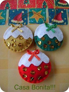 47 Best Ideas for crochet kids decor christmas trees Fabric Christmas Ornaments, Felt Christmas Decorations, Christmas Sewing, Felt Ornaments, Handmade Christmas, Christmas Diy, Christmas Trees, Felt Crafts, Christmas Crafts